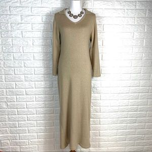 Peruvian Connection long sleeve maxi size S